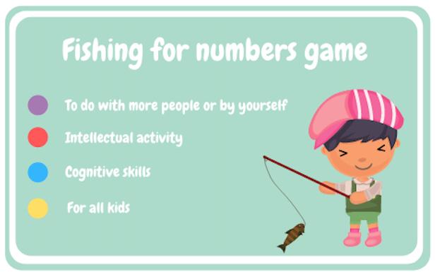 Pescar números