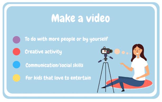 Fazer um vídeo