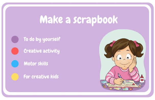 Make a scrapbook