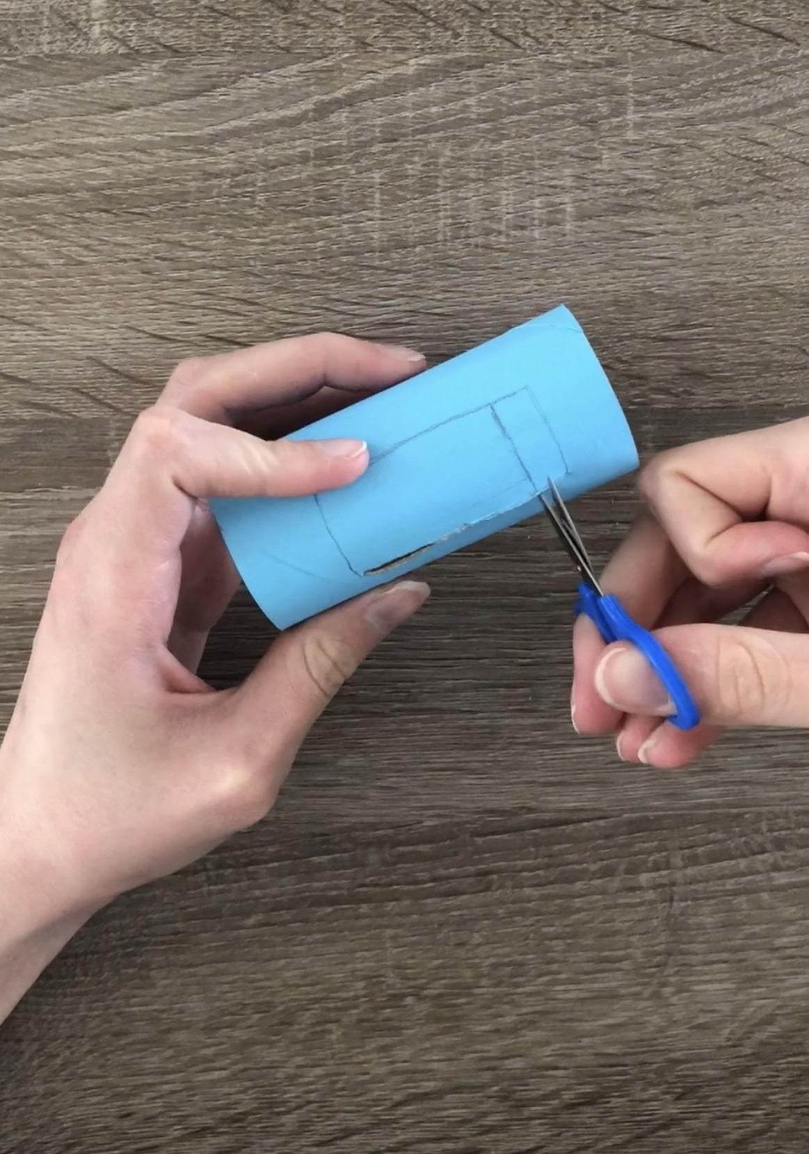 Manualidad de papel higiénico