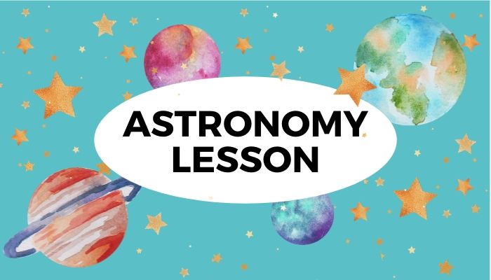 Kids Astronomy Lesson Space Crafts for Kids
