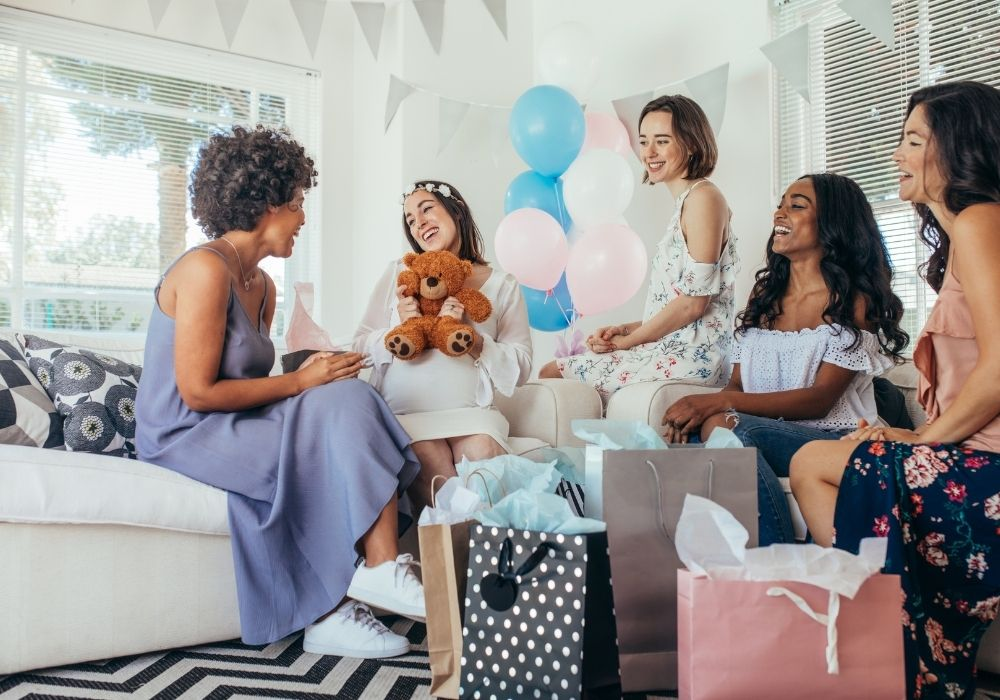 baby shower guests
