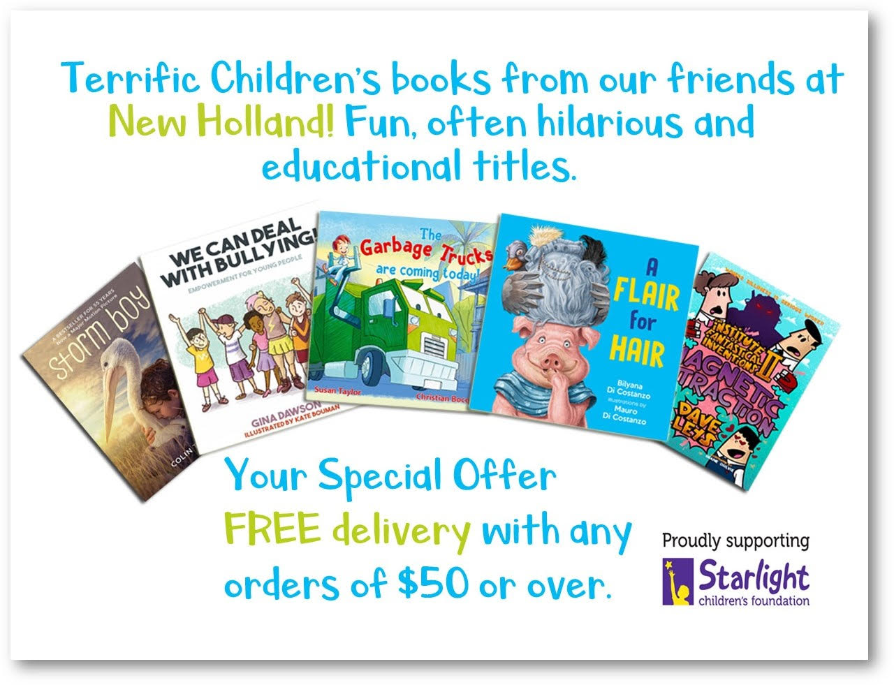 New Holland Publishers and Babysits Discount Code
