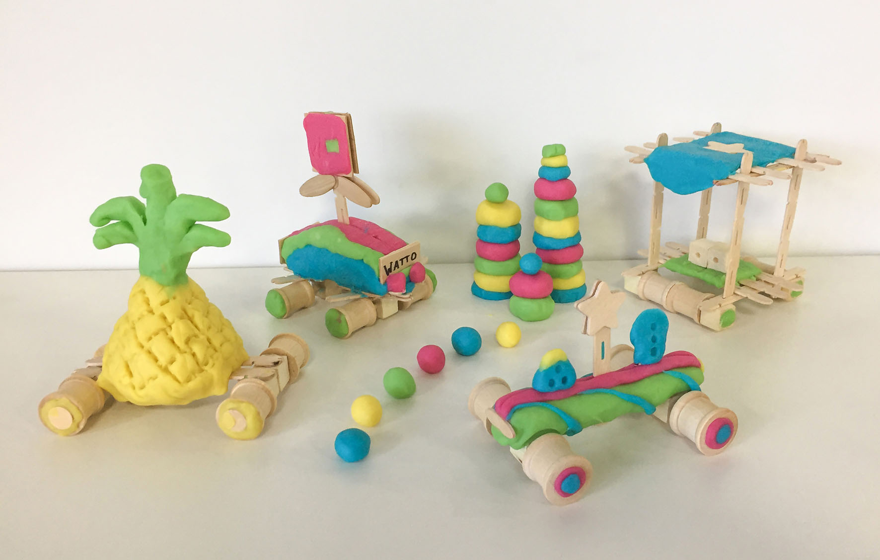 STEM Playdough Activity