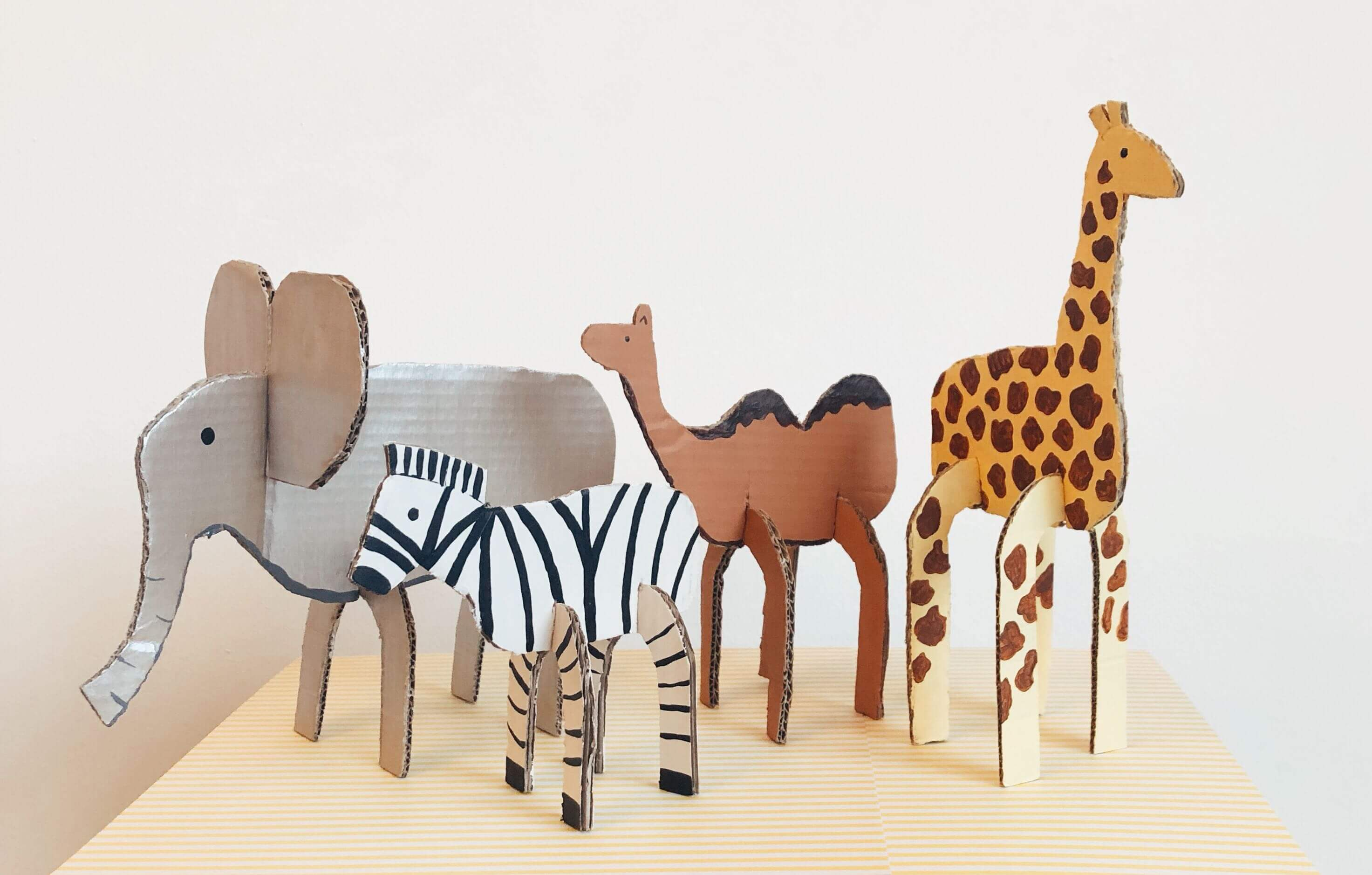 Cardboard Animal Craft