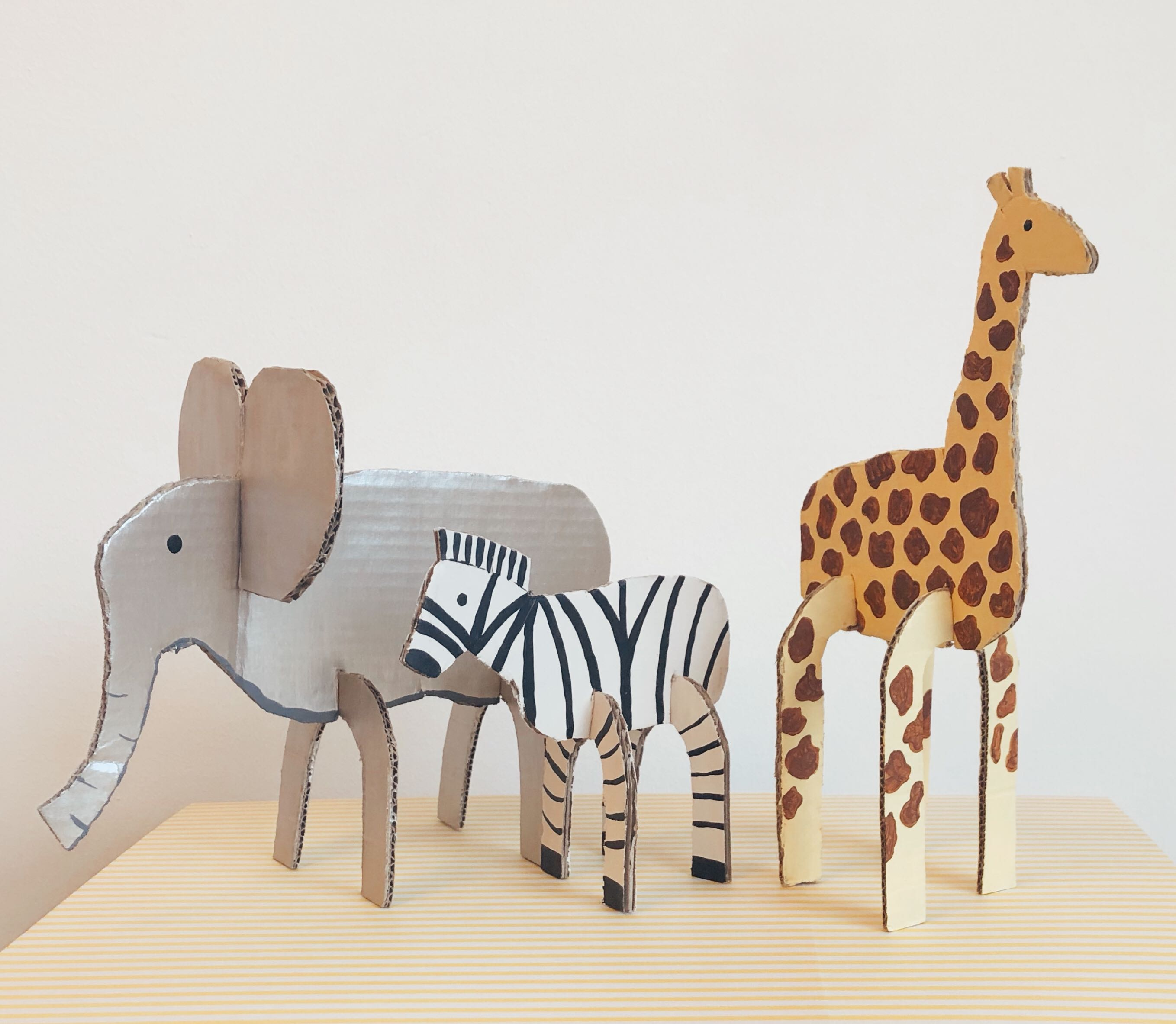 Cardboard kids craft