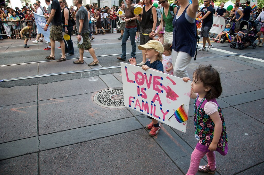 Pride Family Inclusive LGBTQ Love is a Family