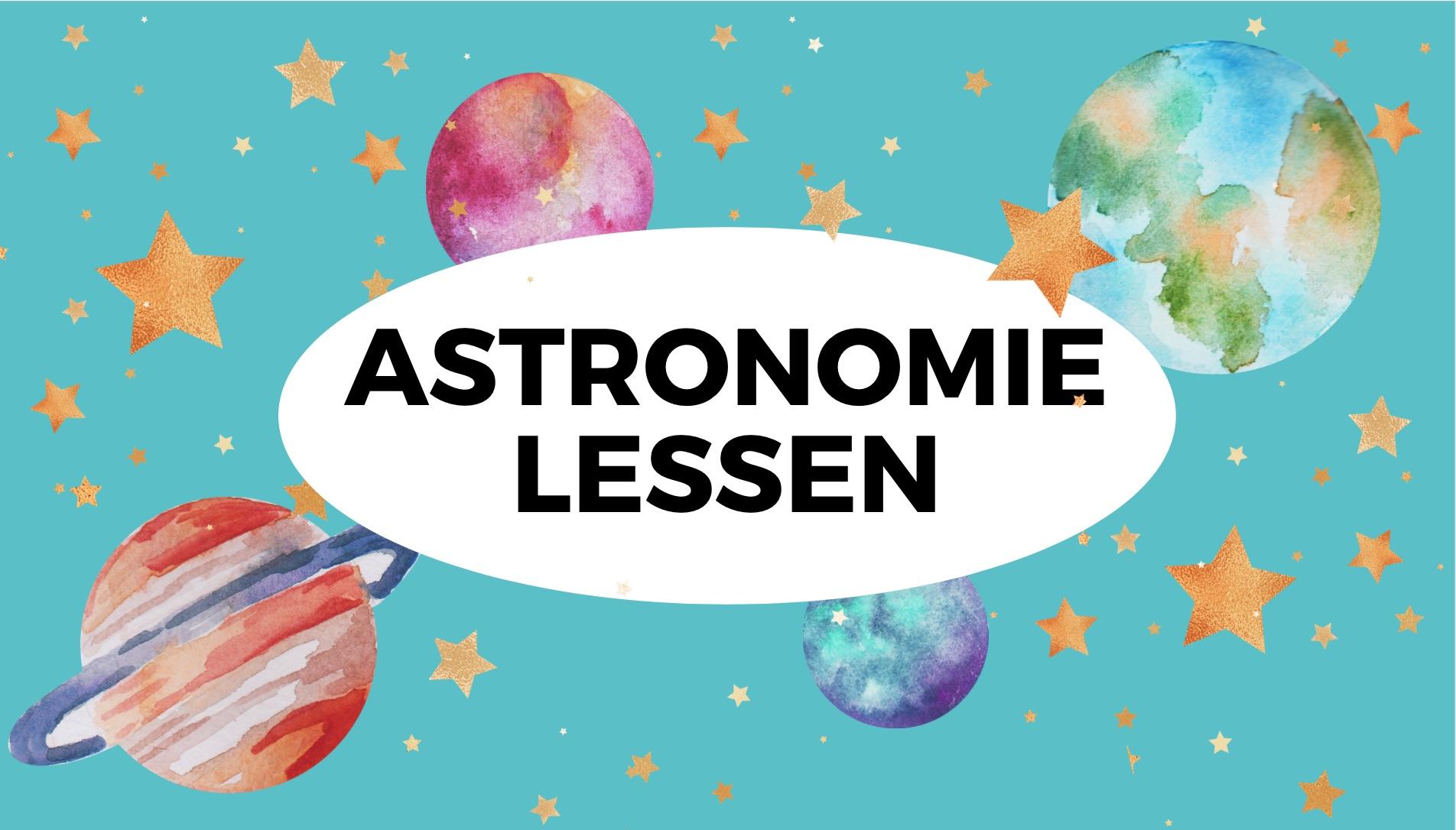 Astronomie voor beginners