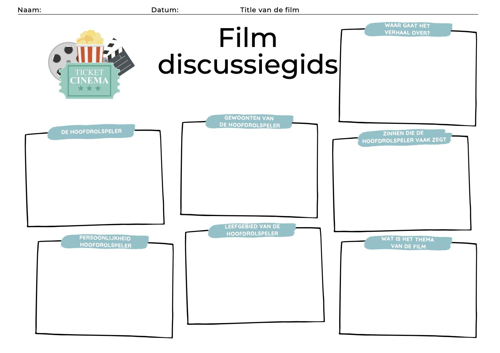 Film discussiegids voor kinderen