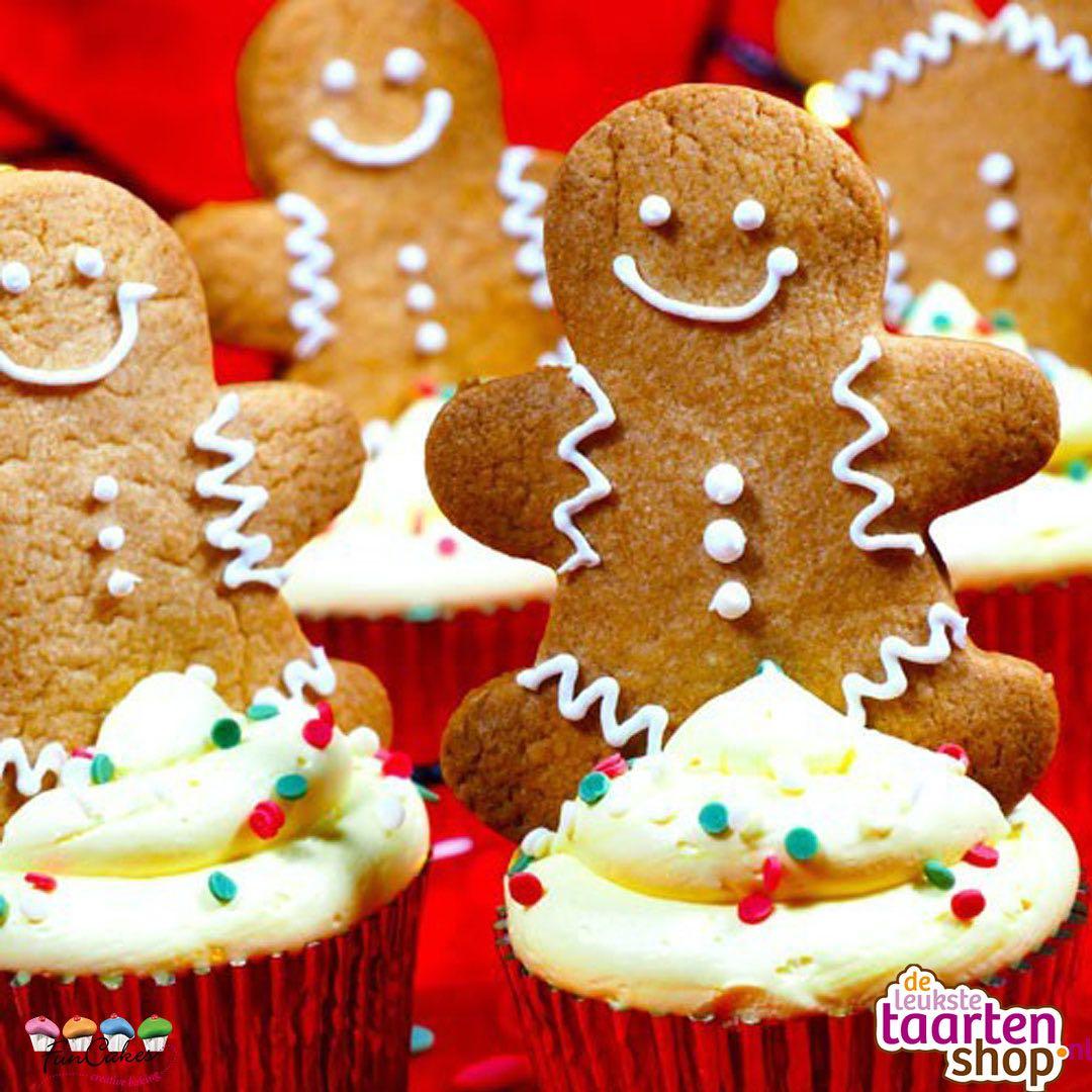 Speculaas-gingerbread Cupcakes