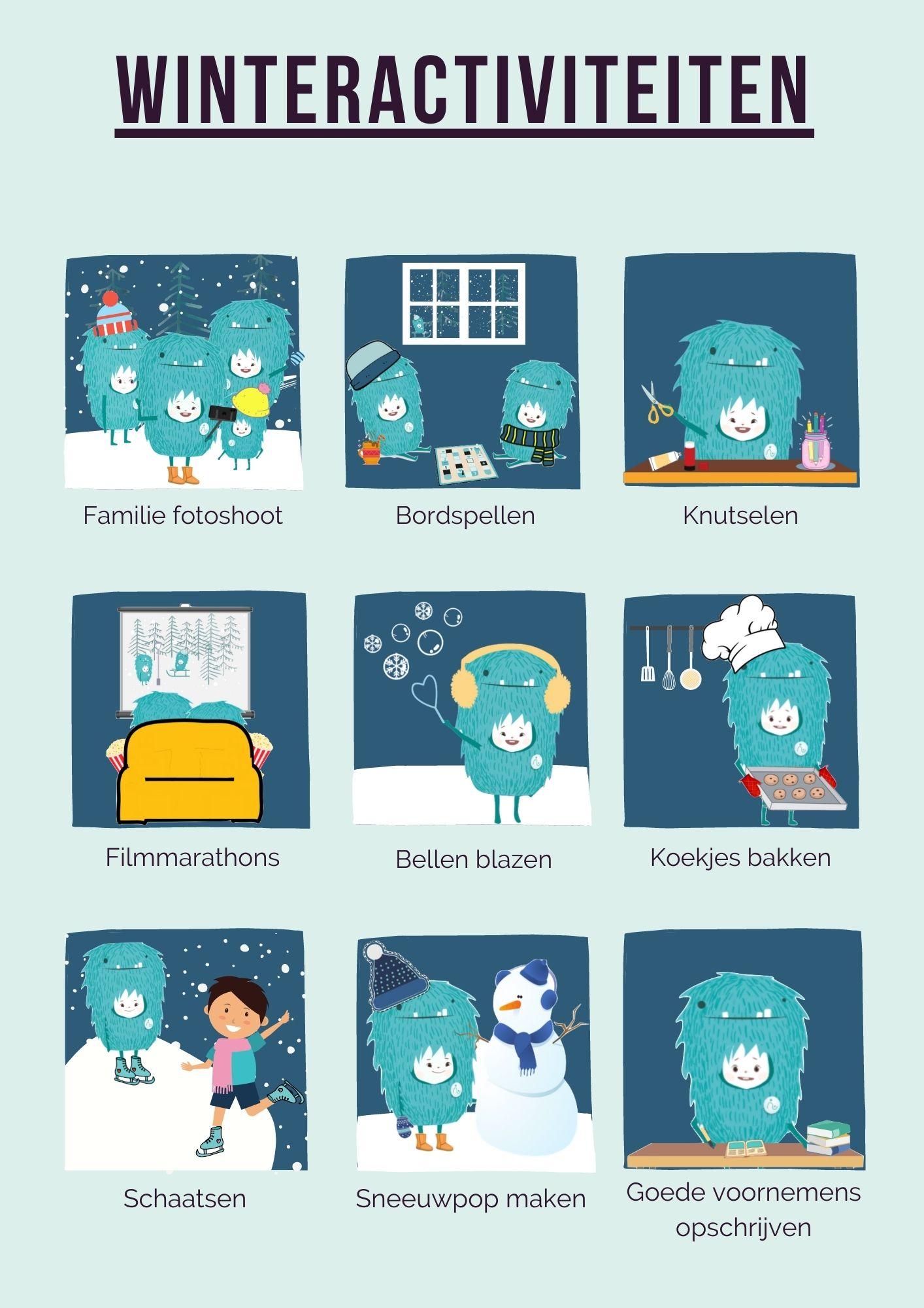Winteractiviteiten