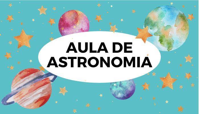 Aula de astronomia