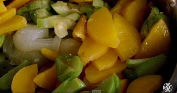 ensopado de legumes
