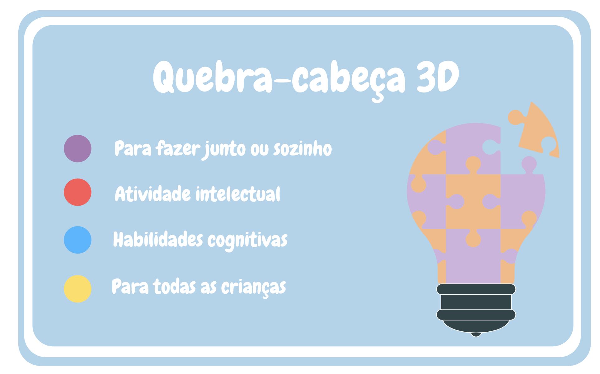 Quebra-cabeça3D