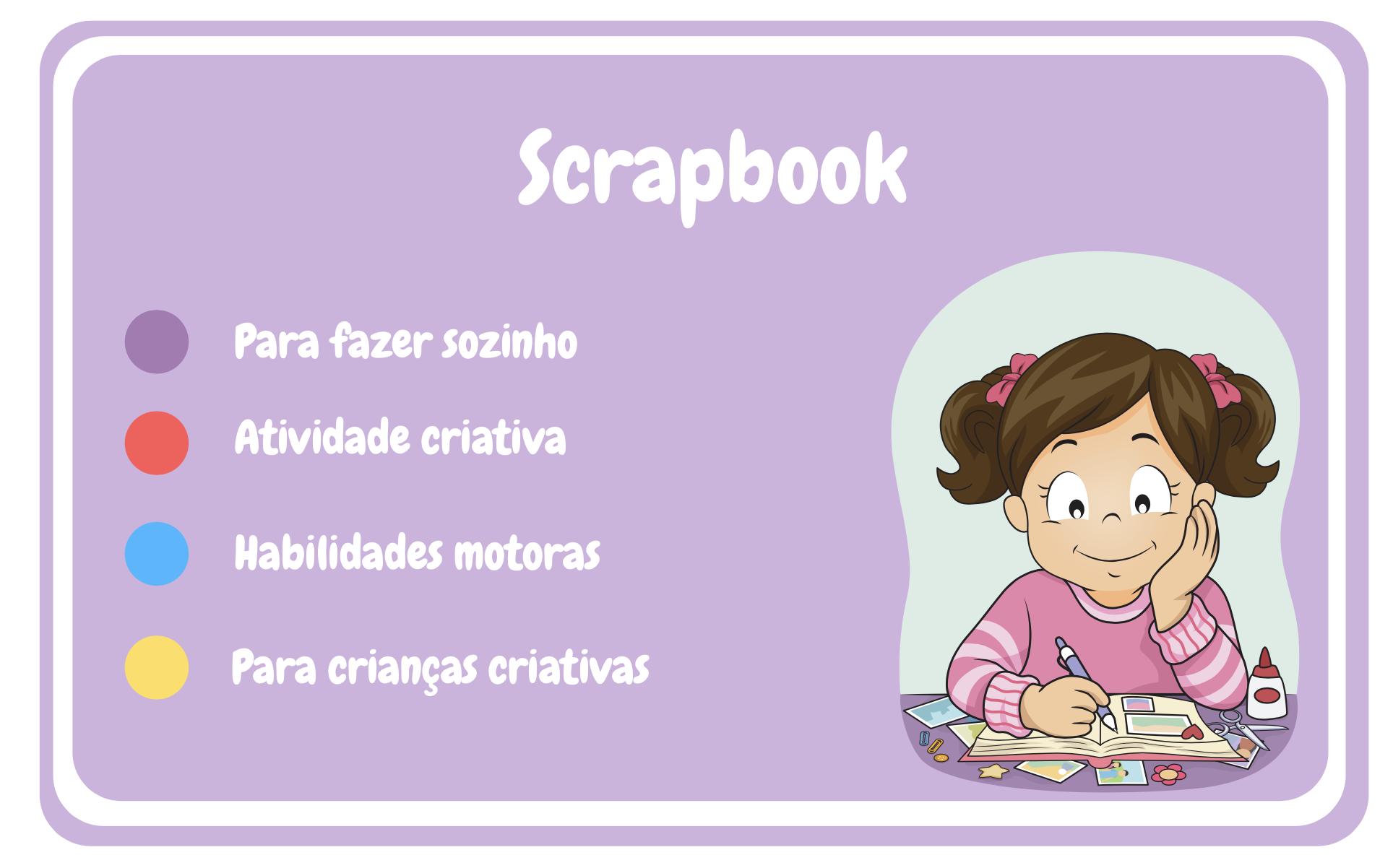 Fazer um scrapbook