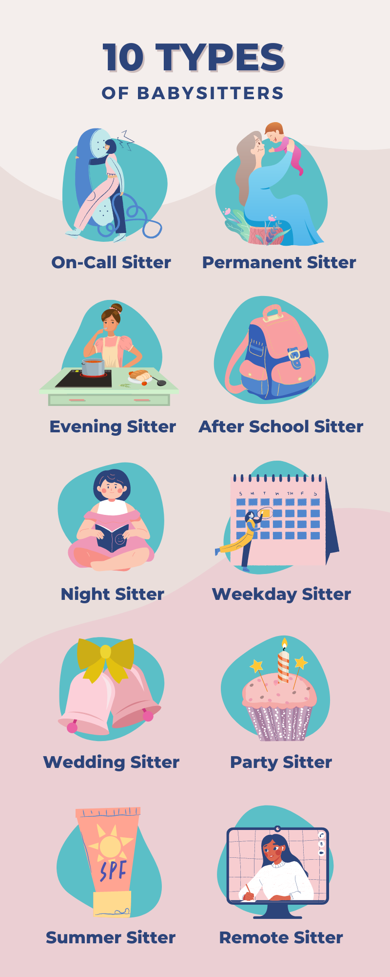 10 types of babysitters