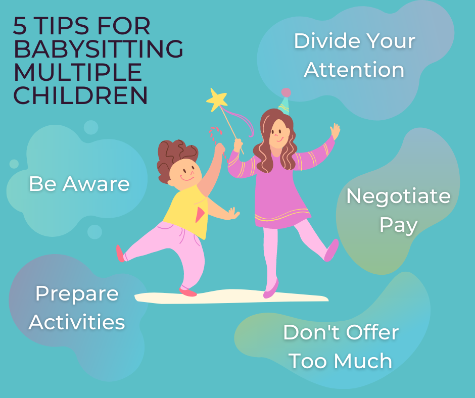 Tips to babysit multiple children