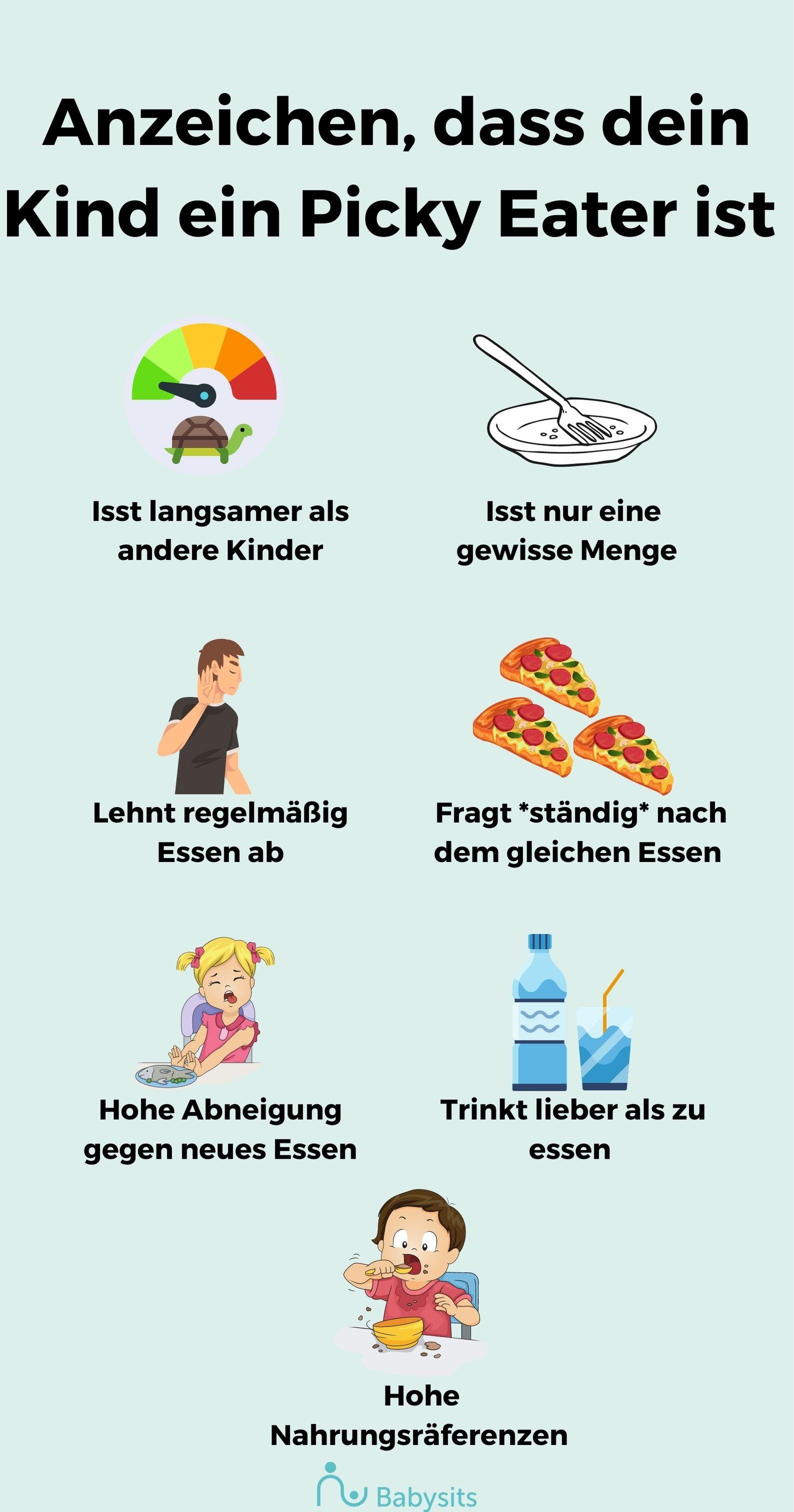 7 Anzeichen dafür, dass dein Kind ein Picky Eater ist