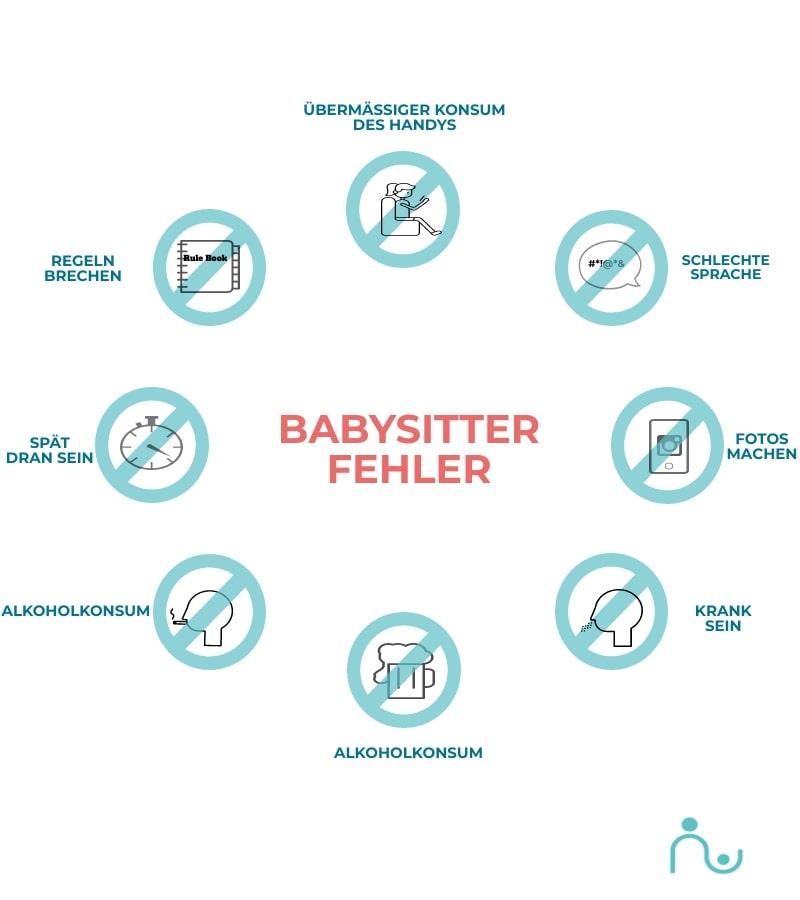 Fehler als Babysitter