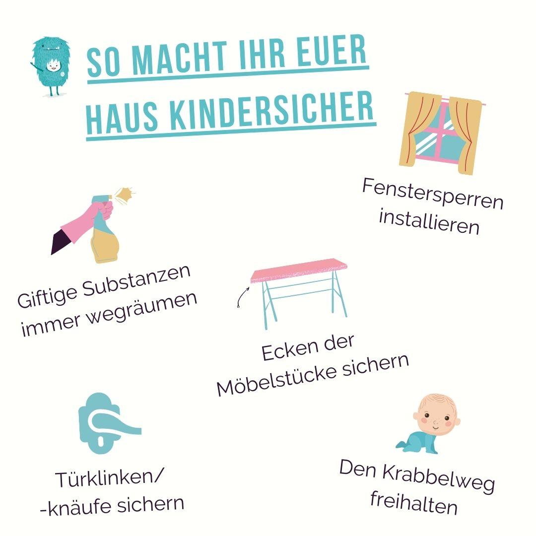 5 Kindersicherheits-Tipps die alle Eltern kennen sollten