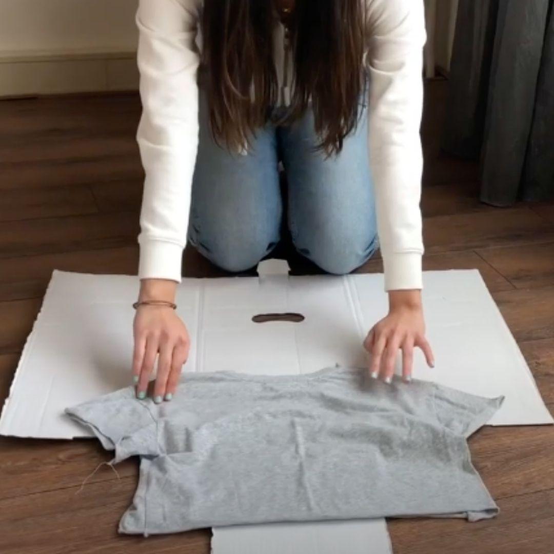 The clothing folder