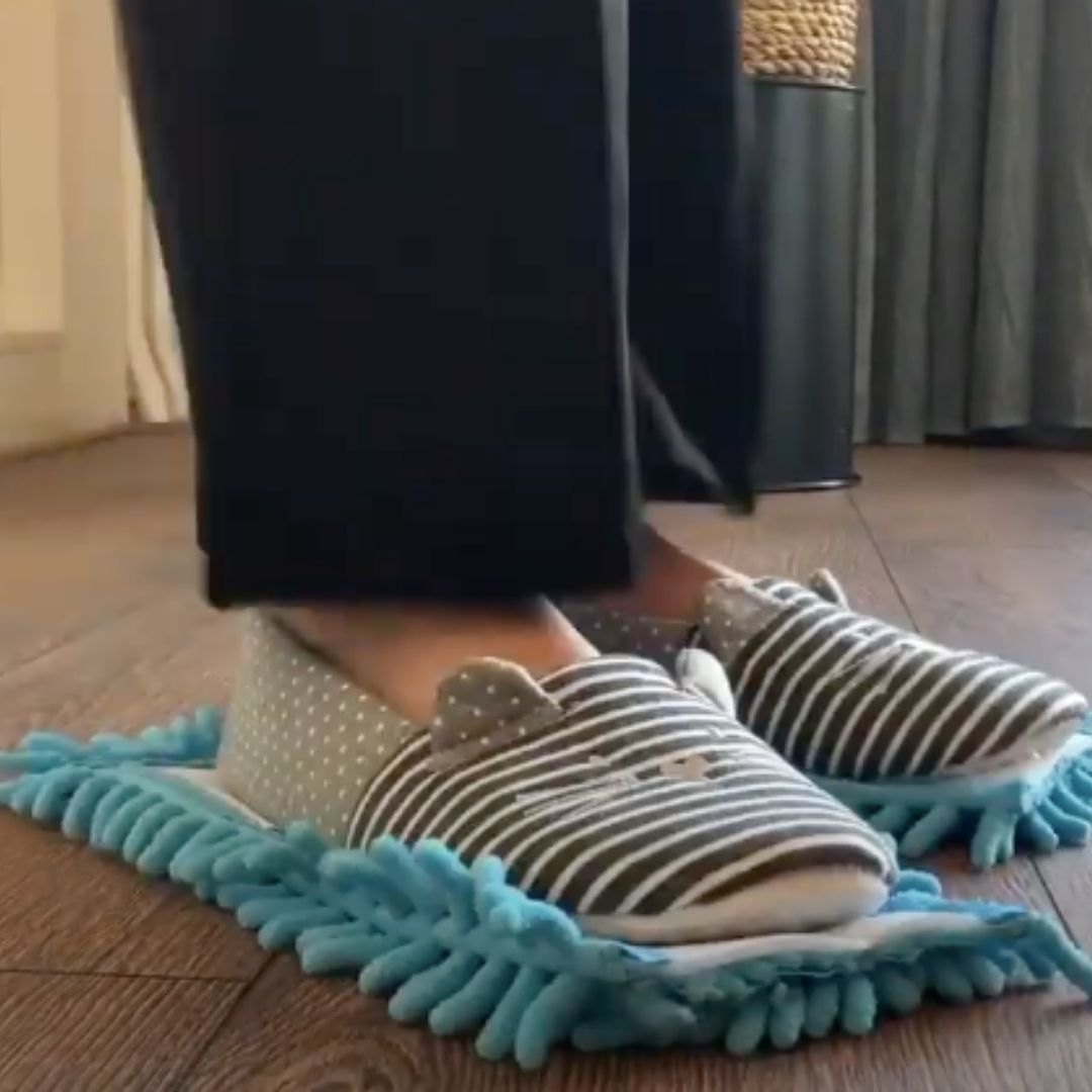 Magical cleaning shoes