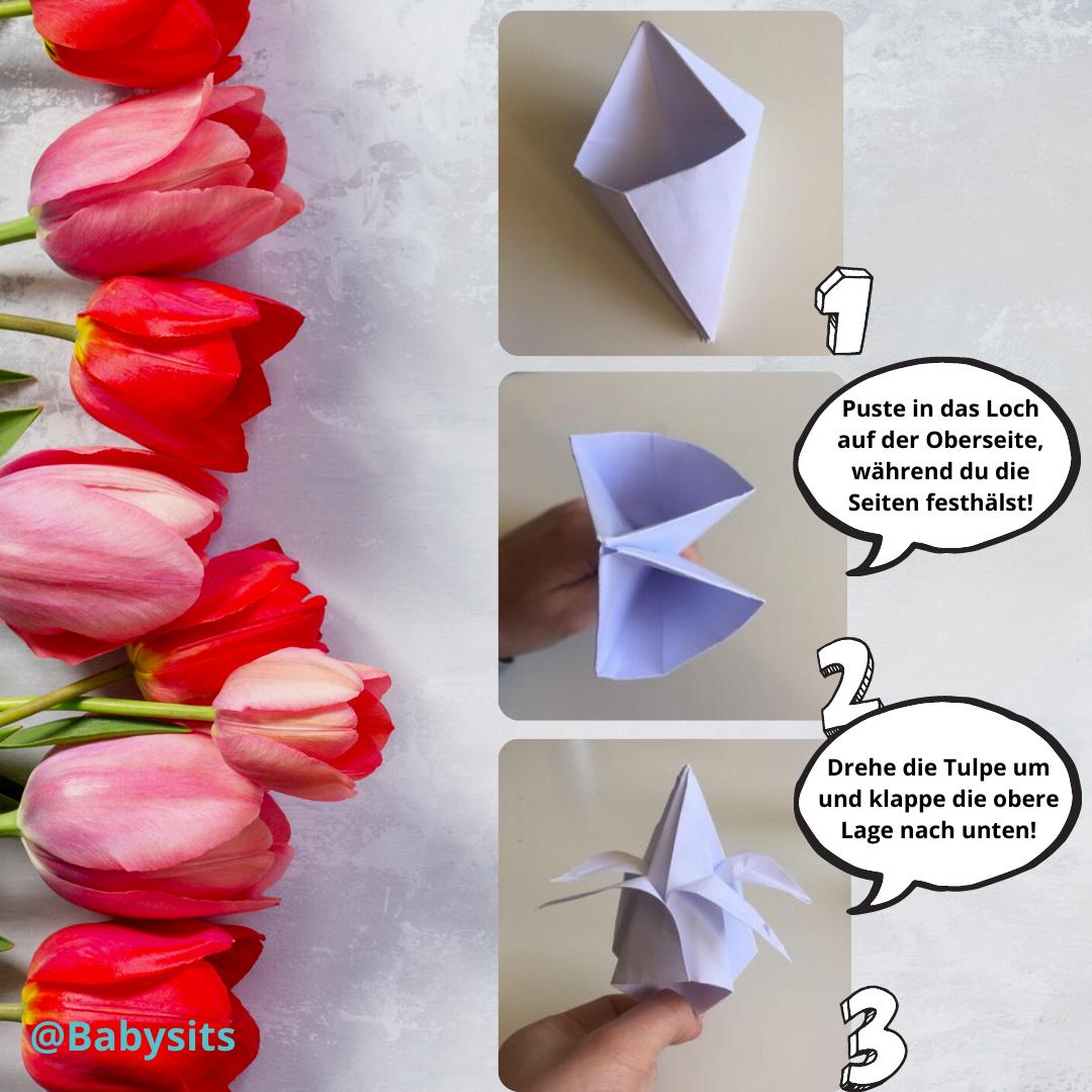 Tulpen basteln Schritt 6