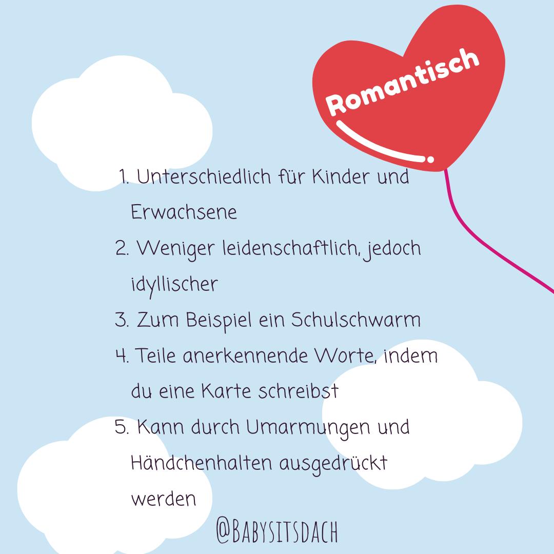 romantische liebe