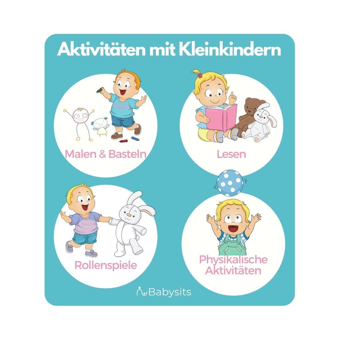 Aktivitäten für Kleinkinder