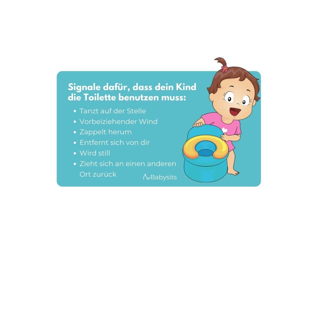 Woher weißt du, wann dein Kleinkind das Töpfchen benutzen muss