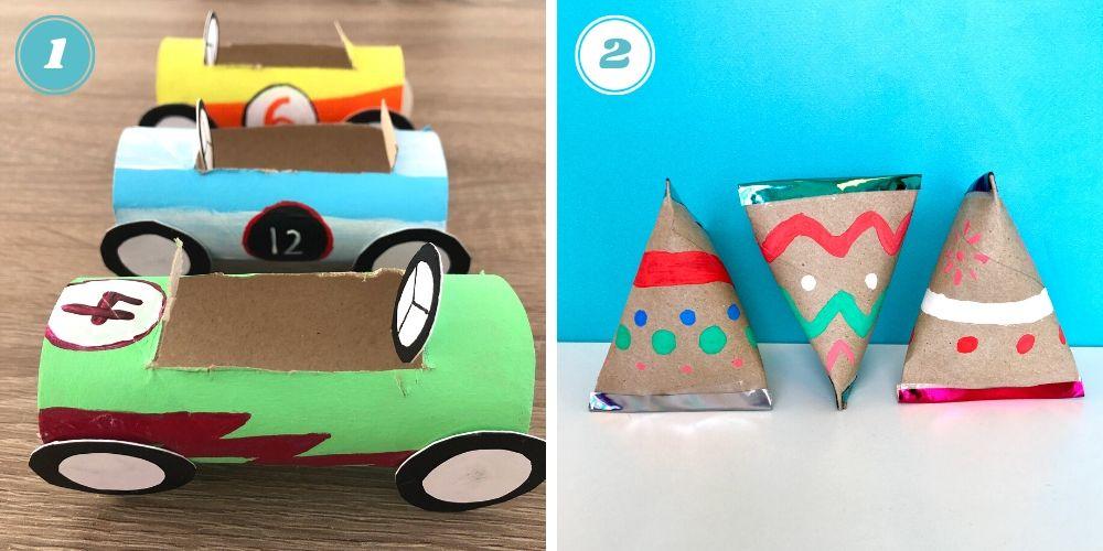 Deux Idées de DIY avec des Rouleaux de Papier Toilette