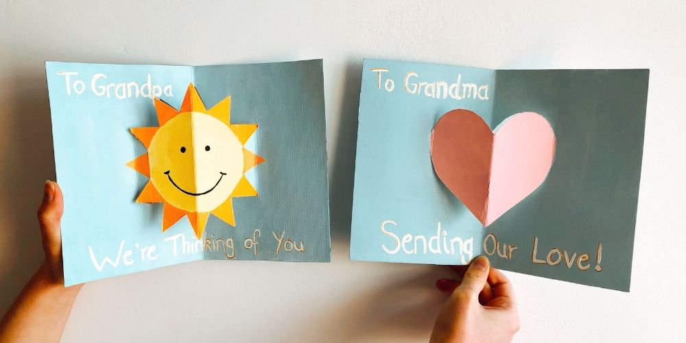 Carte pour grand parents