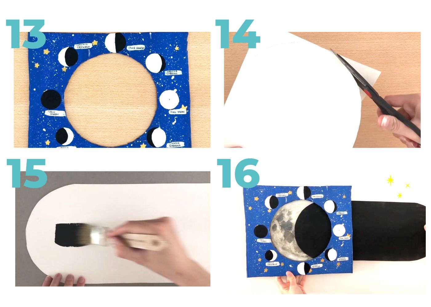 Moon Phases Activity Creative Crafts for Kids