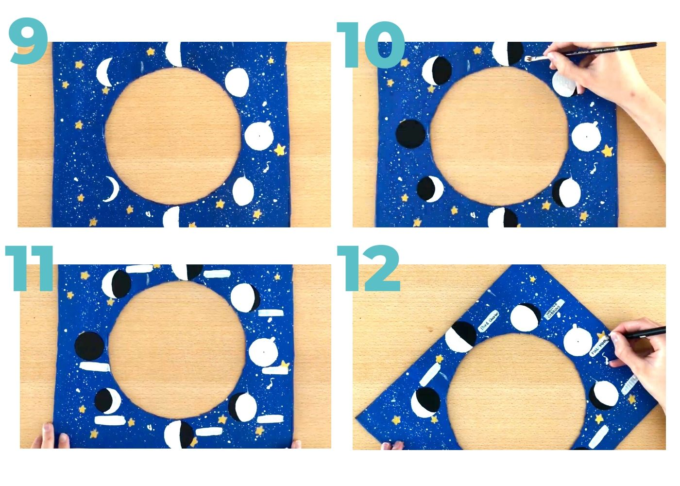 Moon Phases Activity Real Science for Kids