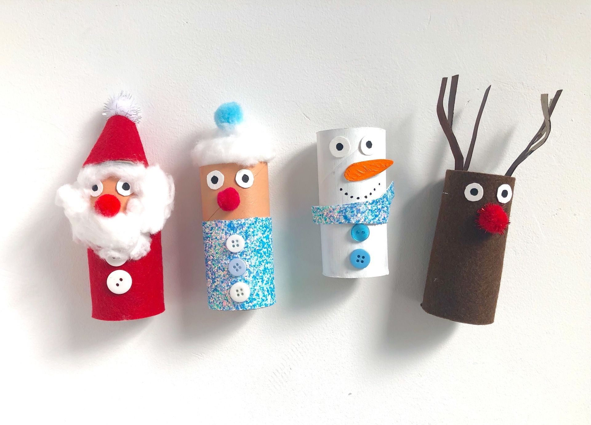 christmas toilet paper roll craft
