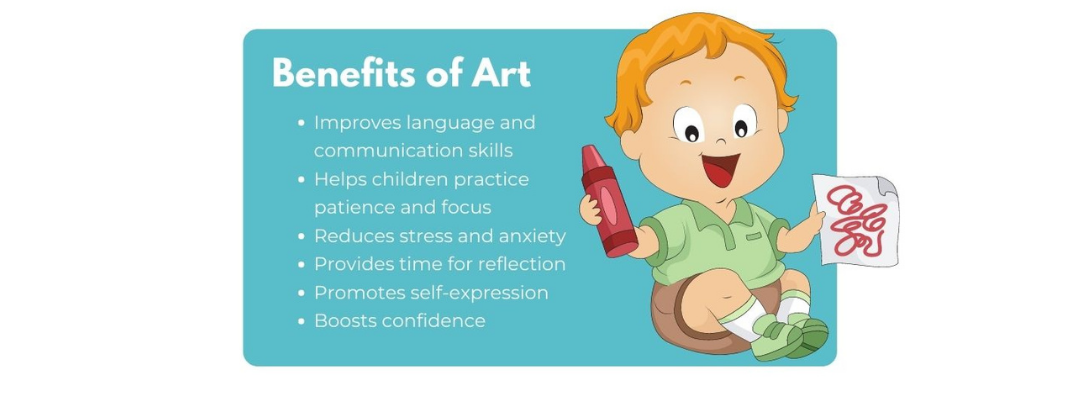 benefits of art for toddlers and young children