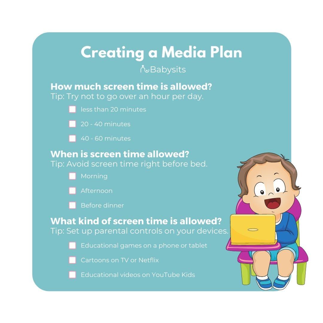 creating a family media plan