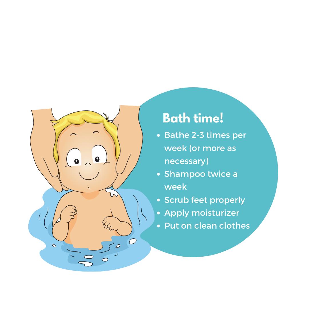 toddler bathing tips