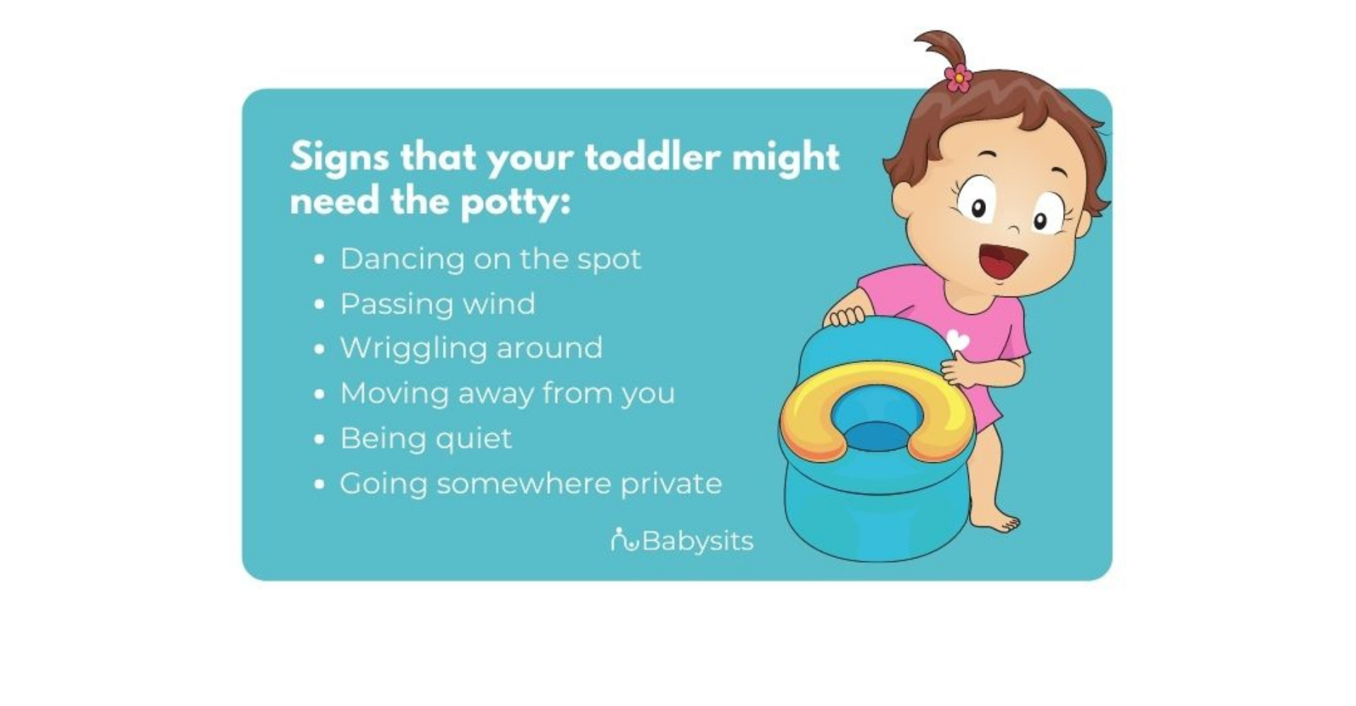 how to know when my toddler needs to use the potty