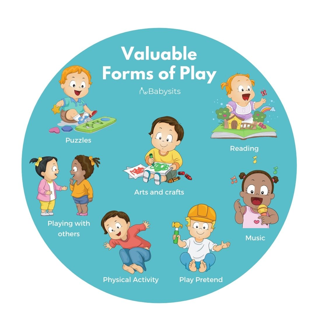 valuable forms of toddler and child play