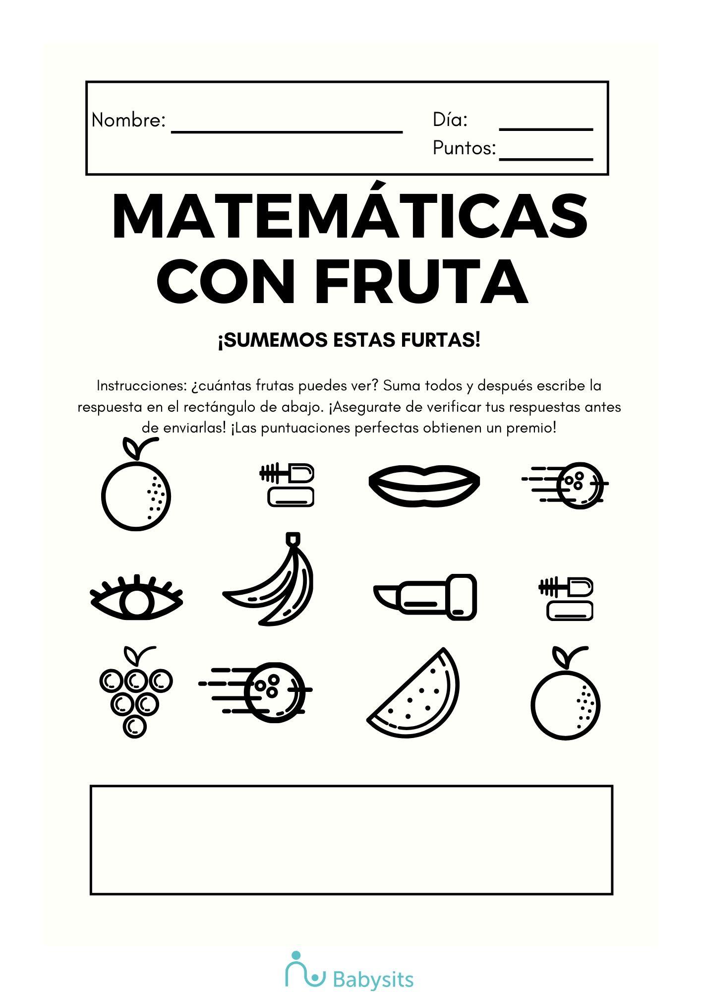 Actividad de matemáticas