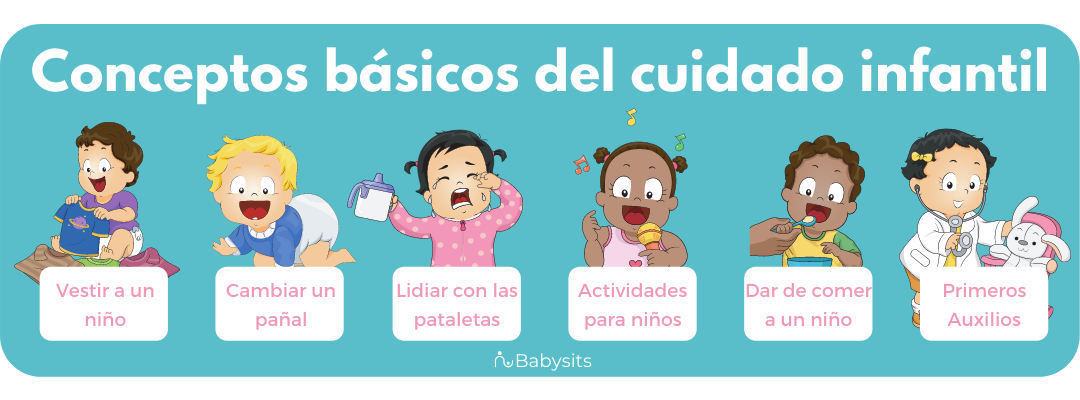 Conceptos básicos del cuidado infantil