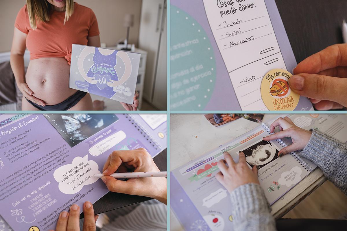 libro de embarazo mimuselina