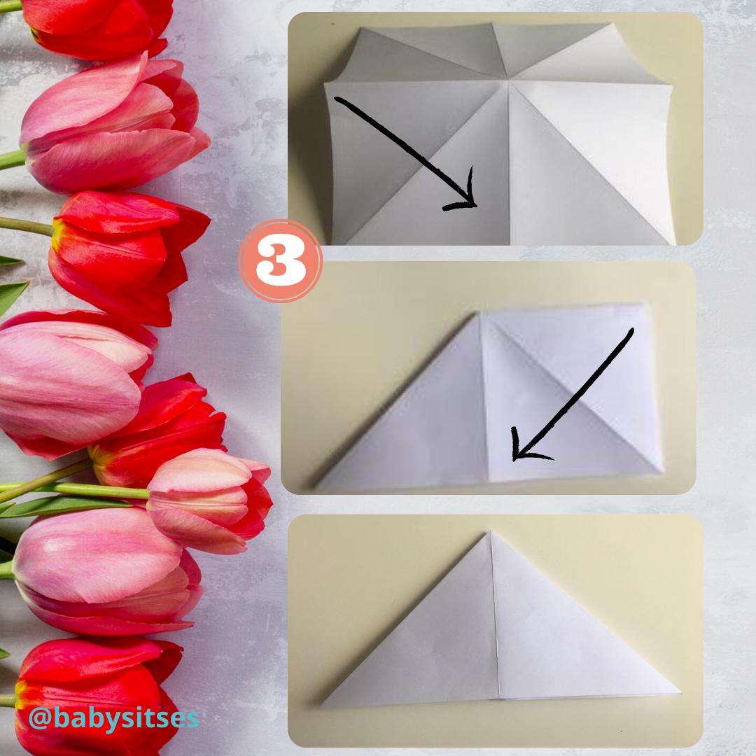 tulipán origami 2