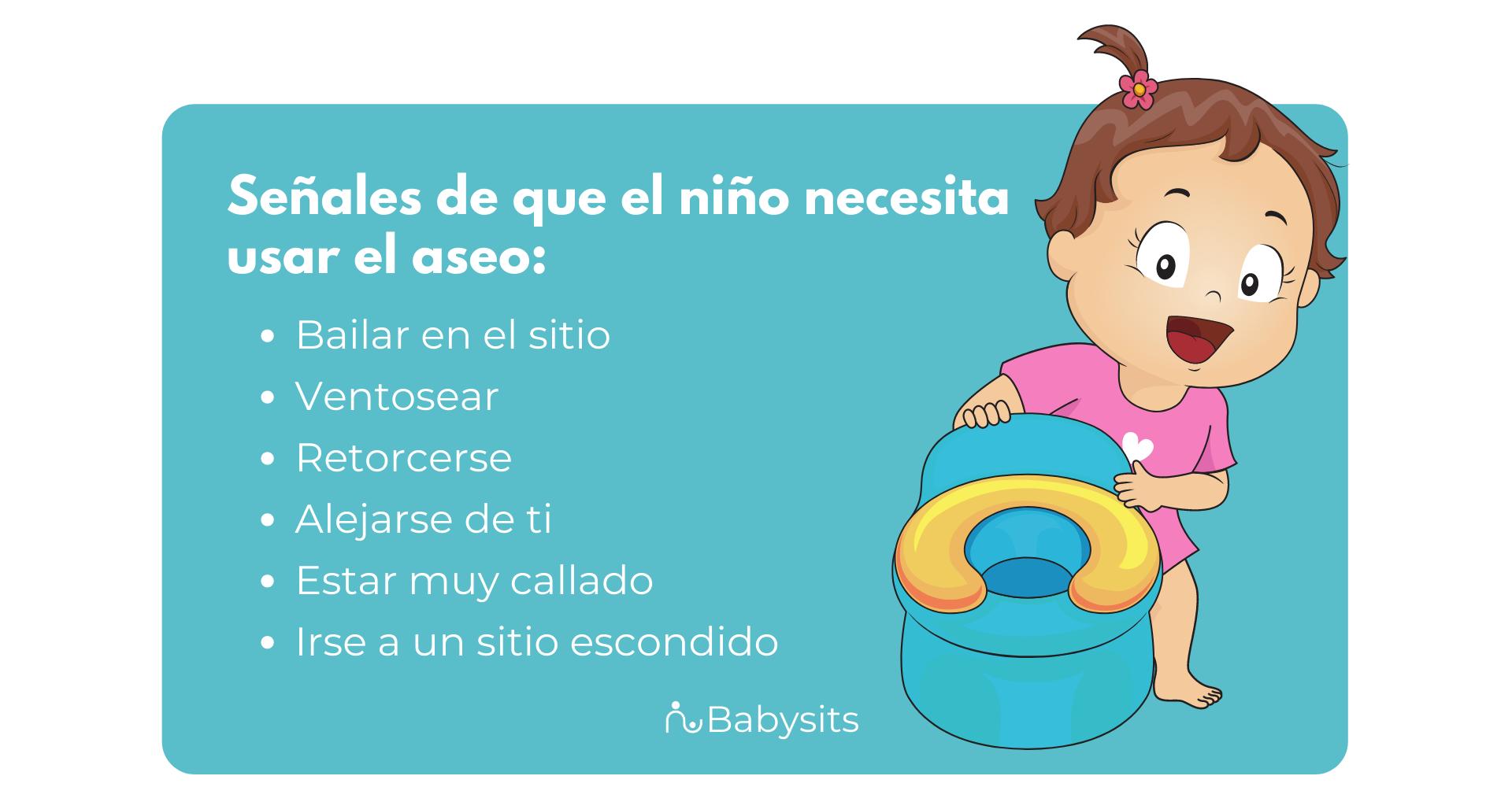cómo saber que tu hijo necesita ir al baño