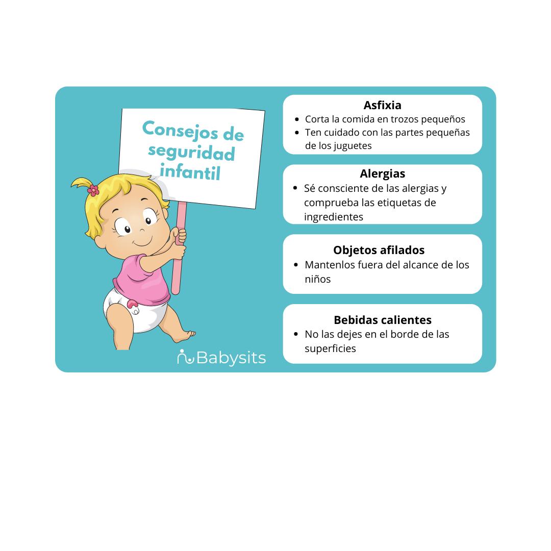Consejos seguridad infantil
