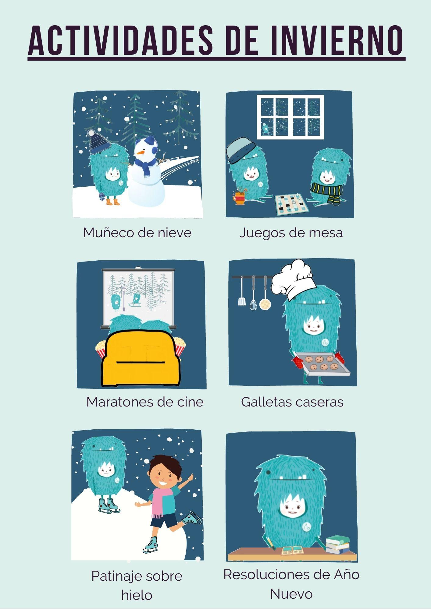 Actividades de invierno para niños