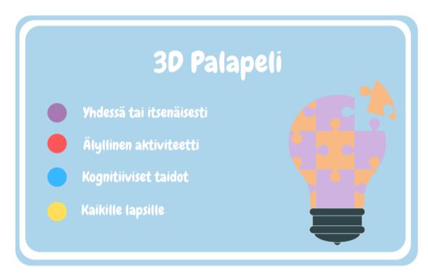 3D Palapeli