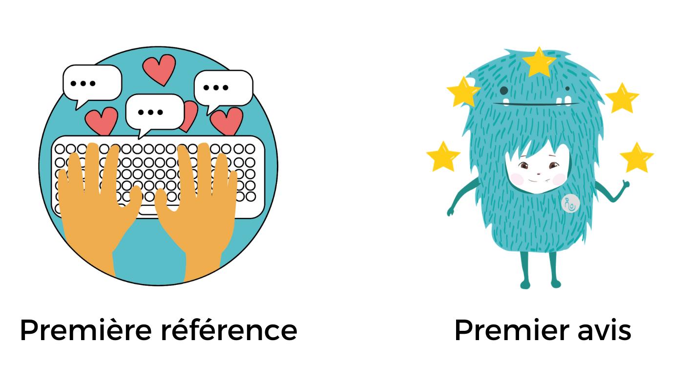 Badges avis et référence
