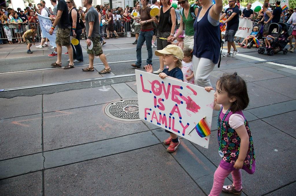 Parler de la diversité et de l'amour à vos enfants